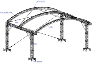 ARC roof structure