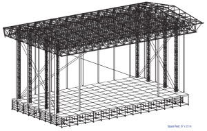 Space Roof structure